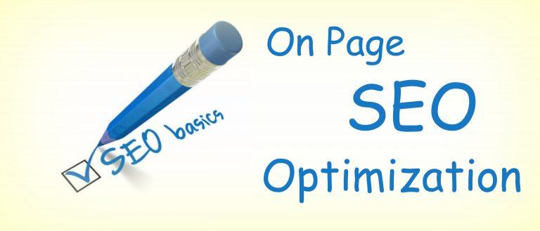 Tối Ưu Website, Onpage
