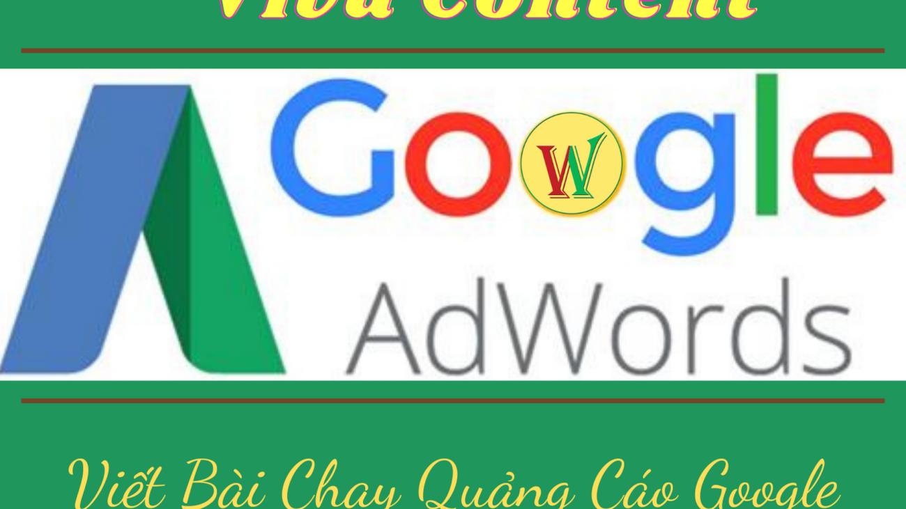 Viết bài Chạy Quảng Cáo Google
