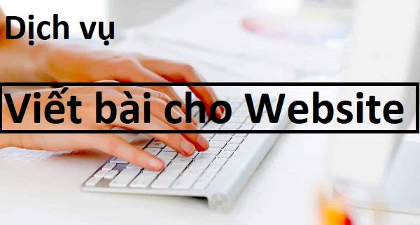 Dịch Vụ Viết Bài Content Cho Website