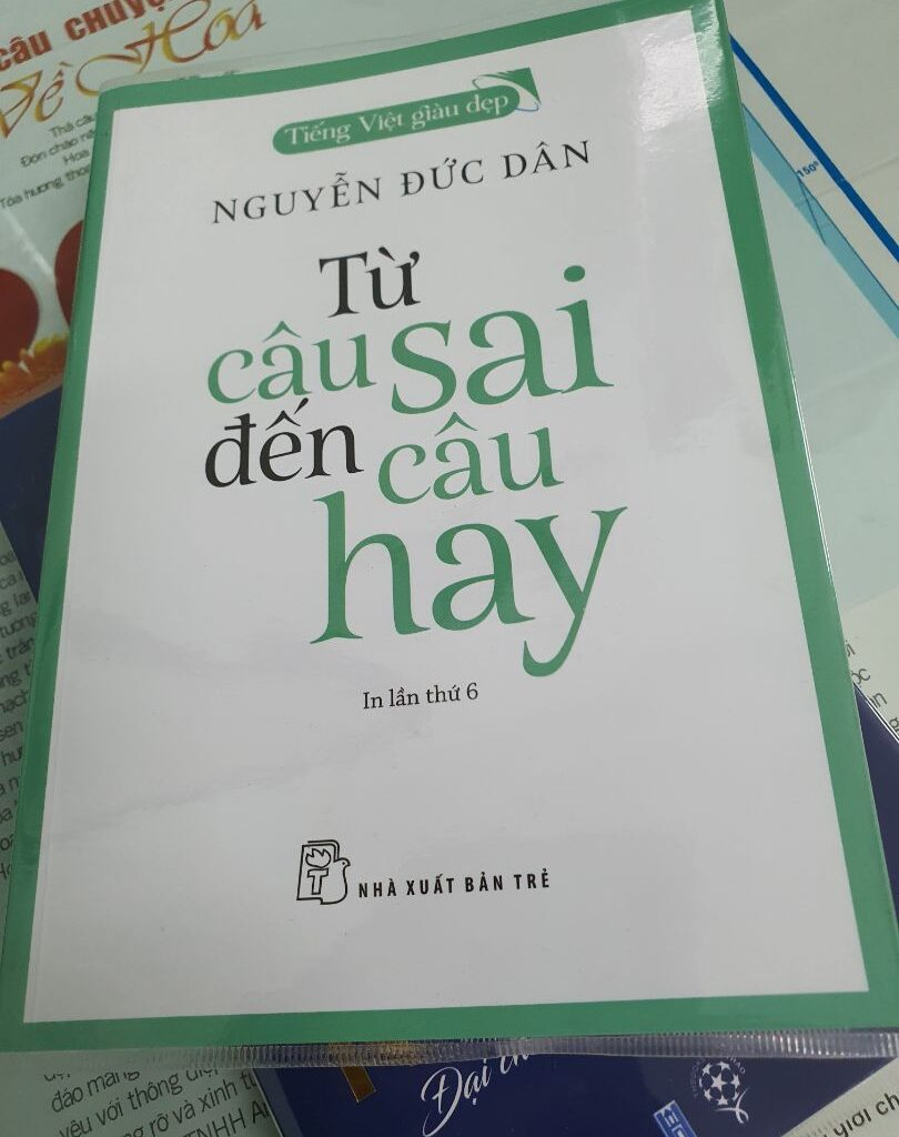 sách TỪ CÂU SAI ĐẾN CÂU HAY